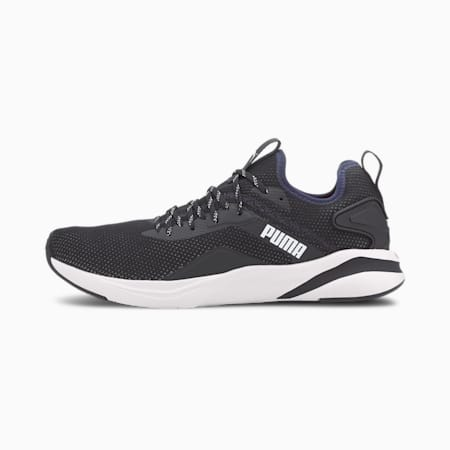 SOFTRIDE Rift Knit Men's Running Shoes, Peacoat-Puma White, small-IND