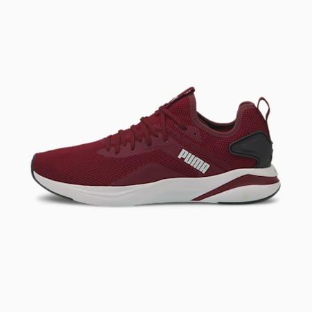 SOFTRIDE Rift Knit Men's Running Shoes, Zinfandel-Puma Black, small-IND