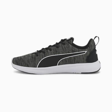 Zapatillas de running para hombre SOFTRIDE Vital Clean, Black-Ultra Gray-White, small