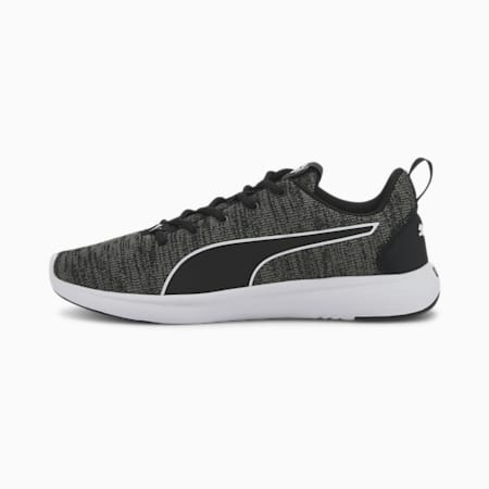 SOFTRIDE Vital Clean Men's Running Shoes, Black-Ultra Gray-White, small-IND