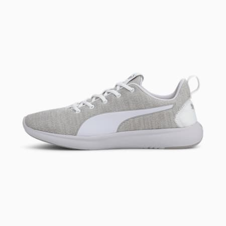 SOFTRIDE Vital Clean Men's Running Shoes, Puma White-Gray Violet, small