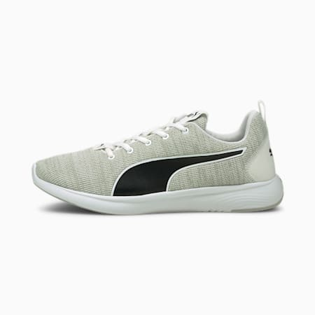 SOFTRIDE Vital Clean Men's Running Shoes, White-Gray Violet- Black, small-IND