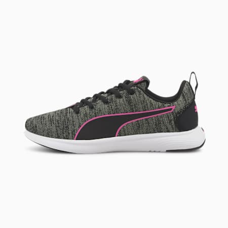 Chaussures de course SOFTRIDE Vital Clean femme, Black-Ultra Gray- Pink, small