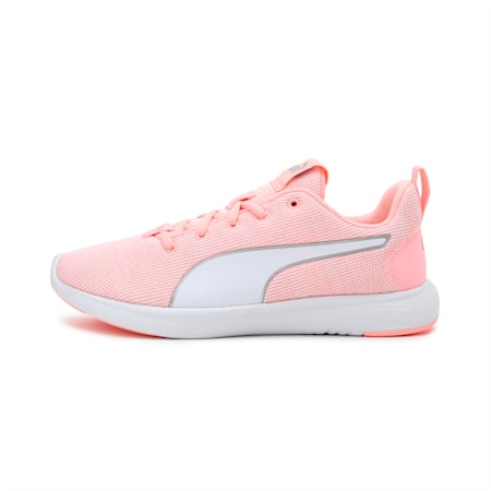 SOFTRIDE Vital Clean Women's Running Shoes, Elektro Peach-White-Silver, small-IND