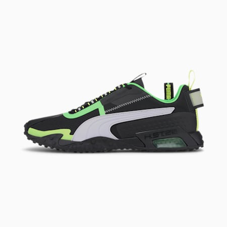 H.ST.20 KIT 2 Men's Training Shoes, Black-White-Elektro Green, small