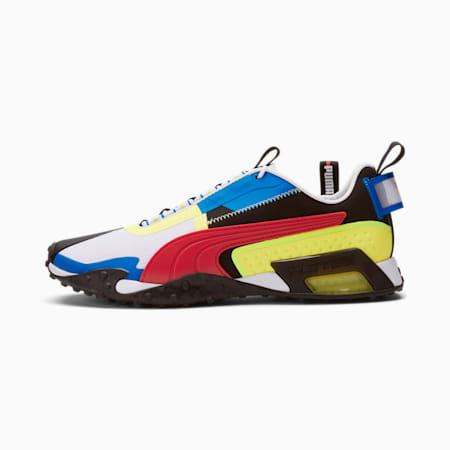 Zapatos deportivos H.ST.20 KIT 2 para hombre, Puma White-High Risk Red-SOFT FLUO YELLOW, pequeño