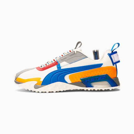 Zapatos deportivos H.ST.20 KIT 2 para hombre, Ivory Glow-Future Blue-Orange Glow, pequeño
