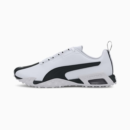 H.ST.20 LQDCELL Leather Training Shoes, Puma White-Puma Black, small-IND
