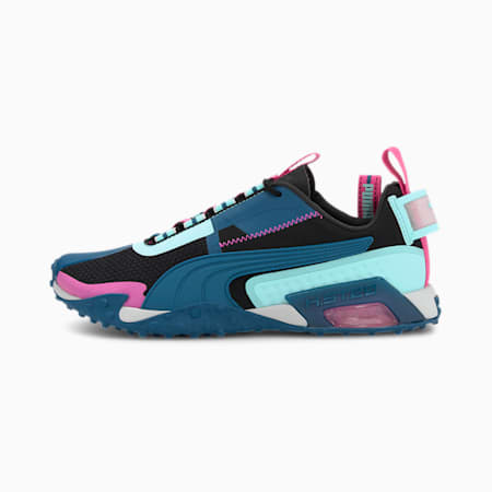 Damskie buty treningowe H.ST.20 KIT 2, Black-ARUBA BLUE-Pink, small