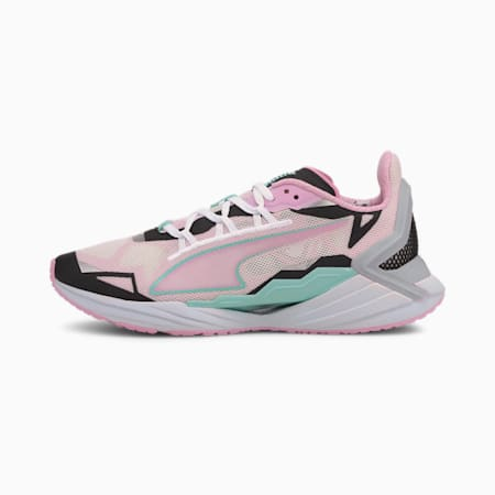 UltraRide Running Shoes JR, Puma White-Pale Pink, small