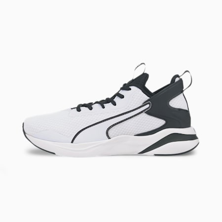 SOFTRIDE Rift Kid's Shoes, Puma White-Puma Black, small-IND