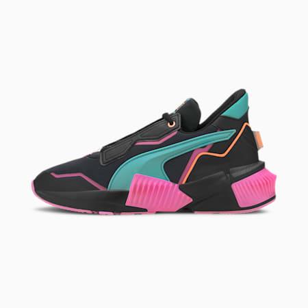 Provoke XT FM Xtreme Women's Training Shoes, Black-Luminous Pink-Green, small