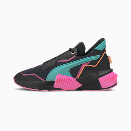 PUMA x FIRST MILE Provoke XT Xtreme Women's Training Shoes, Black-Luminous Pink-Green, small