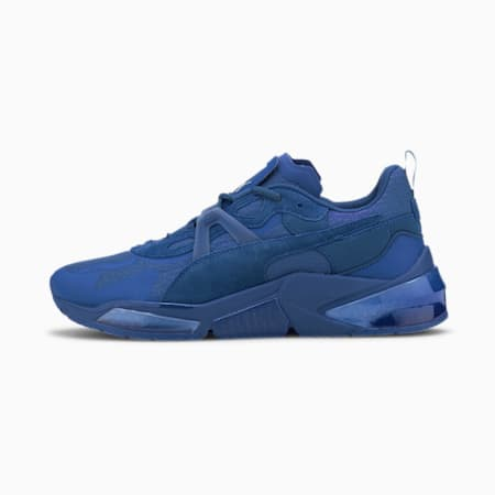 PUMA x FIRST MILE LQDCELL Optic Mono hardloopschoenen voor heren, Lapis Blue, small