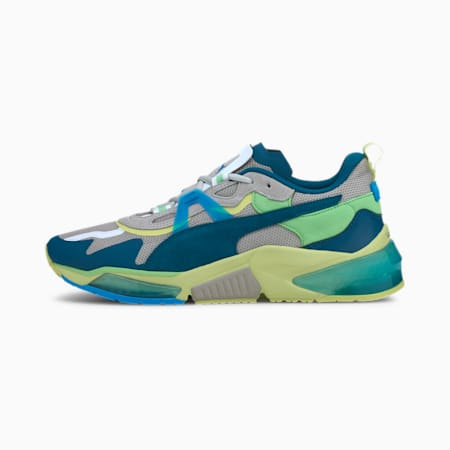 Optic Pax LQDCELL Trainingsschuhe, Gray Violet-Nrgy Blue, small
