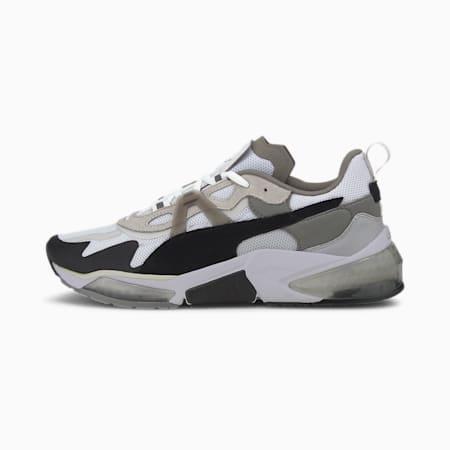 Optic Pax LQDCELL Training Shoes, Puma White-Puma Black-Gray, small