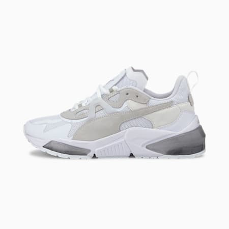 Damskie buty treningowe Optic Pax LQDCELL, Puma White-Metallic Silver, small