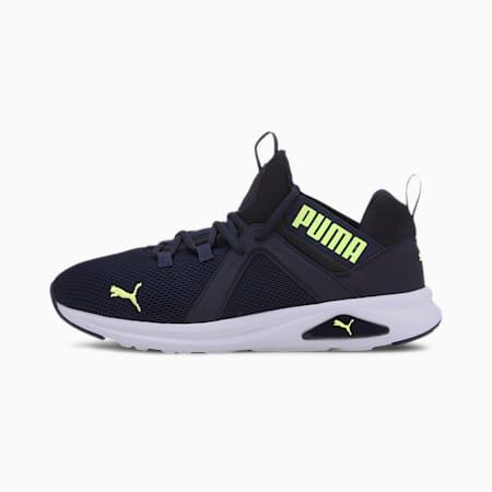 Enzo 2 Wide Men's Training Shoes, Peacoat-Puma Black-Fzy Ylw, small