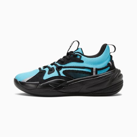 Zapatos de básquetbol RS-DreamerJR, AQUARIUS-Puma Black, pequeño