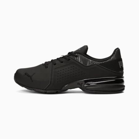 Zapatos deportivos Viz Runner Graphicpara hombre, Puma Black-CASTLEROCK, pequeño