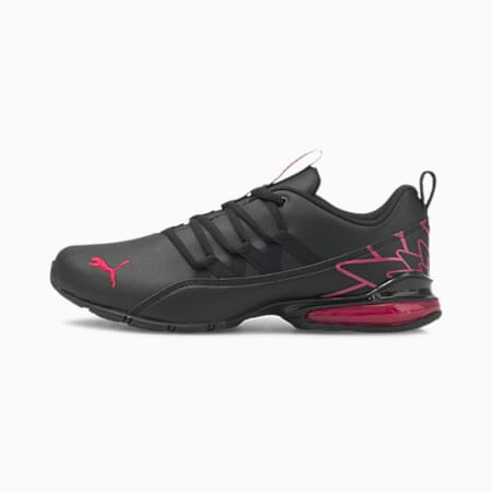 Riaze Prowl Graphic Women's Training Shoes, Puma Black-BRIGHT ROSE, small