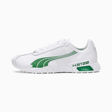 H.ST.20 NYC Training Shoes, Puma White-Amazon Green, small