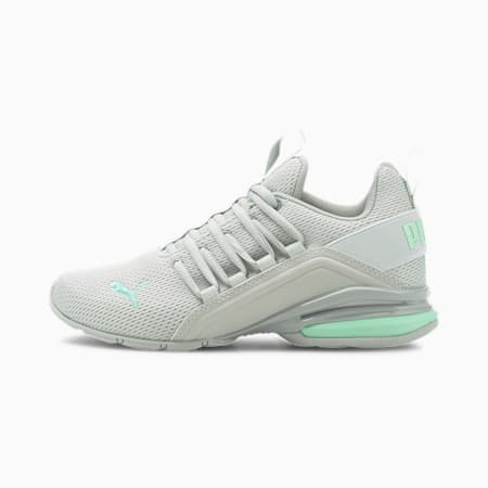 Zapatos deportivos Axelion M JR, Verde High Rise-Mist, pequeño