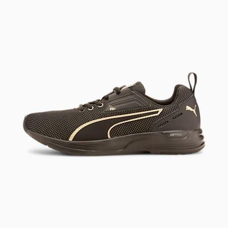 Comet 2 FS SoftFoam+ FIT+ Running Shoes, Puma Black-Puma Team Gold, small-IND