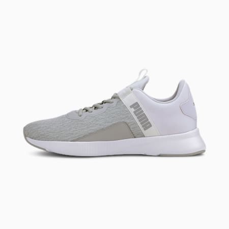 Flyer Beta SoftFoam+ Running Shoes, Puma White-Gray Violet, small-IND