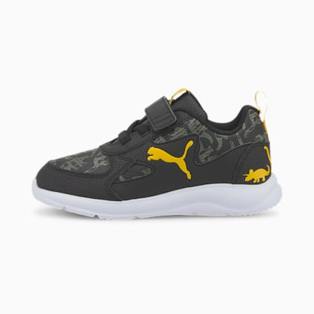 Fun Racer Archeo Kids' Shoes, Puma Black-Thyme, small-IND