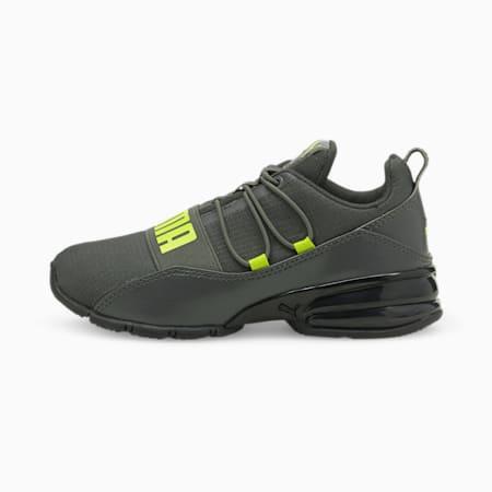 ZapatosCELLRegulatepara niños pequeños, Dark Shadow-Nrgy Yellow, pequeño