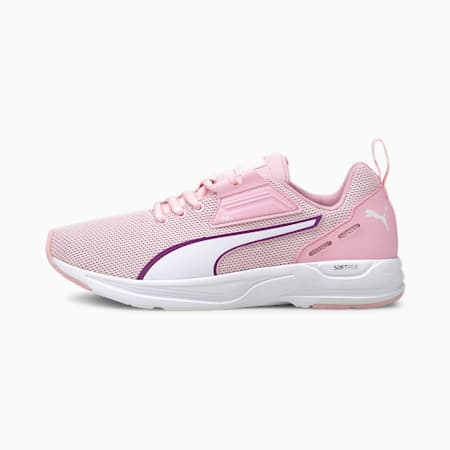 Comet 2 FS Youth Trainers, Pink Lady-P.Wht -Byzantium, small