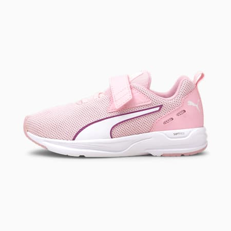 Comet 2 FS V Kids' Trainers, Pink Lady-P.White-Byzantium, small