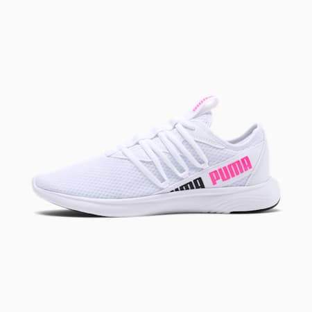 Star Vital Women's Training Shoes, White-Puma Black- Pink, small