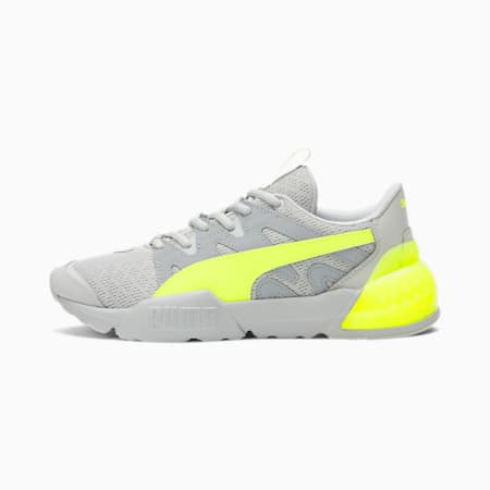 CELL Pharos Women's Training Shoes, Gray Violet-Yellow-Quarry, small