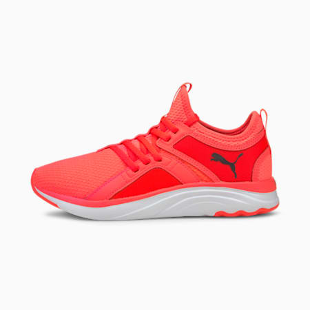 Softride Sophia Women's Running Shoes, Fiery Coral-Puma Black, small-IND