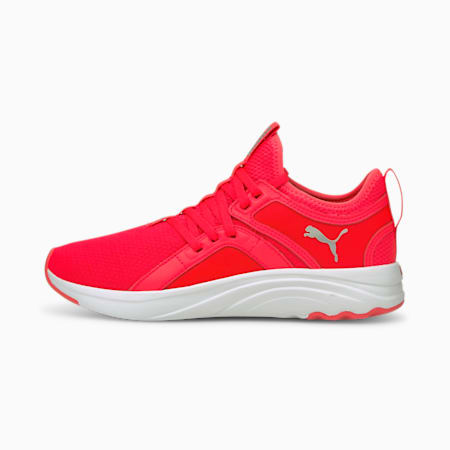 Zapatos para correrSoftRide Sophia para mujer, Sunblaze-Metallic Silver, pequeño