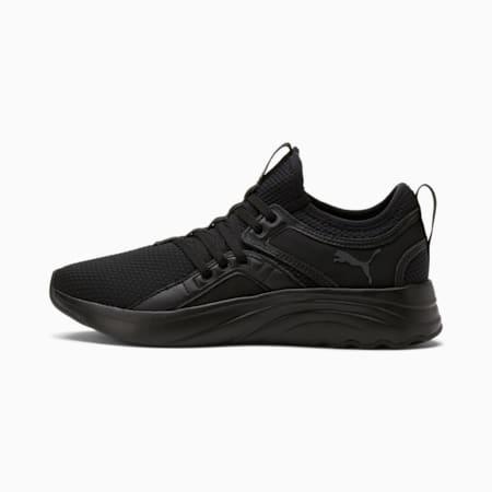 Zapatos para correrSoftRide Sophia para mujer, Puma Black-Asphalt, pequeño