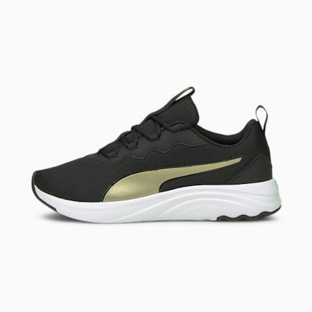 Softride Sophia Easy Women's Running Shoes, Puma Black-Puma Team Gold, small-IND