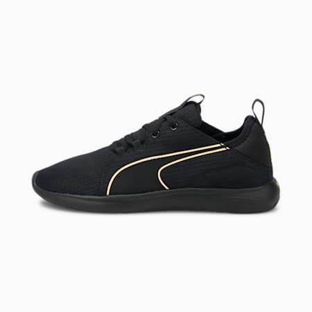Softride Vital Repel Women's Running Shoes, Puma Black-Puma Team Gold, small