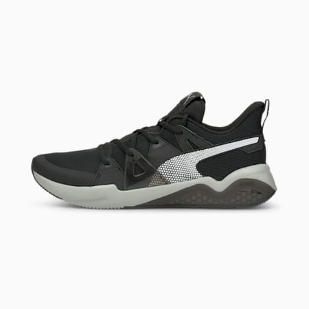 Cell Fraction Men's Running Shoes, Puma Black-Glacier Gray, small-IND