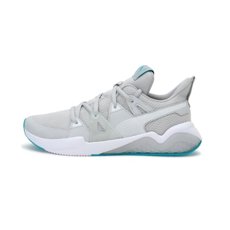Cell Fraction Women's Running Shoes, Gray Violet-Scuba Blue-White, small-IND