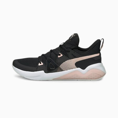 Cell Fraction Women's Running Shoes, Puma Black-Lotus, small-IND