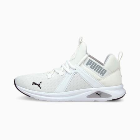Zapatos para correr Enzo 2 Eco para hombre, Puma White-Quarry-Puma Black, pequeño