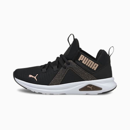 Enzo 2 Speckle Women's Running Shoes, Puma Black-Rose Gold, small-IND