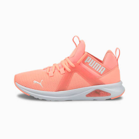 Enzo 2 Speckle Women's Running Shoes, Elektro Peach-Puma White, small-IND