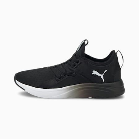 Zapatos deportivos SoftRide Sophia Fadepara mujer, Puma Black-Puma White, pequeño