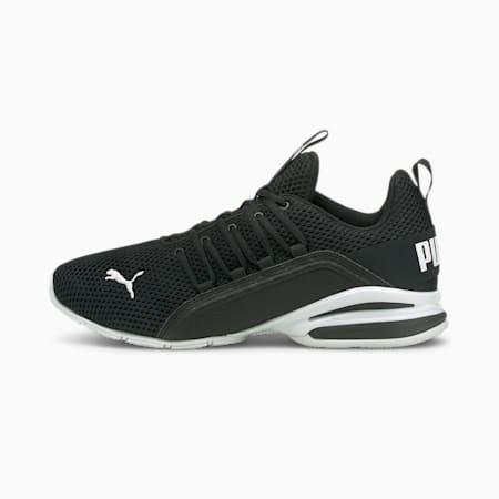 Chaussures d'entraînement Axelion LS, homme, noir PUMA-blanc PUMA, petit