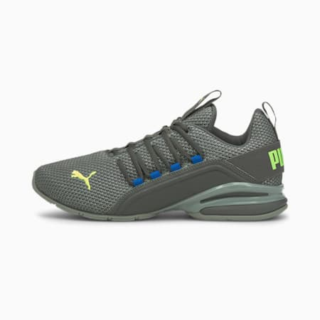 Axelion Men's Running Shoes, CASTLEROCK-Green Glare, small-IND
