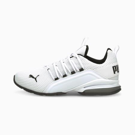 Zapatos de entrenamiento Axelion LS para hombre, Puma White-CASTLEROCK, pequeño